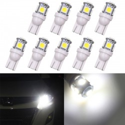 T10 5SMD 5050 W5W Xenon car LED bulb 10 pieces