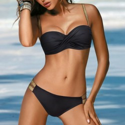 Elegantes Bikini-Set mit Push-up
