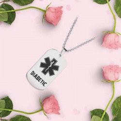 Diabetic Dog Tag