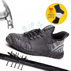 Steel Toe Sneakers - Mesh - Unisex