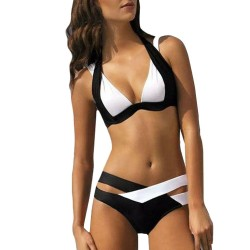 Black & white swimsuit - bikini set