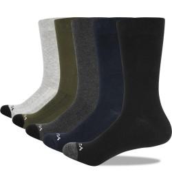 Breathable - Cotton - Socks - Work Socks - 5 Pairs