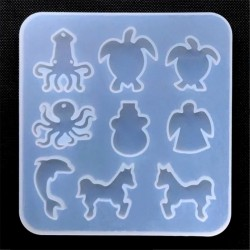 Marine Life - Animal - Silicone Mold - Jewelry Making Tools