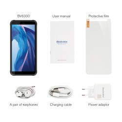 Blackview BV6300 Global Bands - dual sim - 5.7 inch - NFC - Android 10 - 4380mAh - 3GB 32GB - 4G