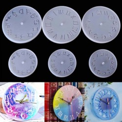 Silicone Mold - Clock - 10/15cm - Resin - Handmade Tool - DIY