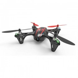Hubsan X4 H107C - Upgraded 2.4G - 4CH - RC Drone Quadcopter - Mode 2 (Left Hand Throttle) - Black Green