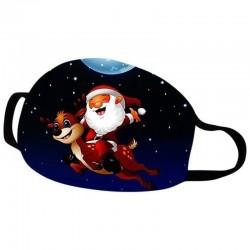 Christmas masks - Santa Claus - Happy New Year - Navidad
