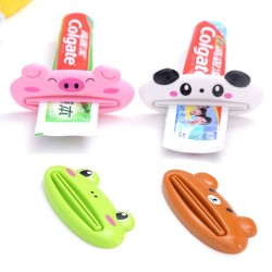 1pcs - children toothpaste dispenser - animal - bathroom supplies