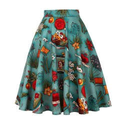 Vintage - retro - 50s - tropical floral skirts