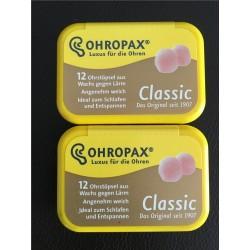 Classic Wax Earplugs - 6pairs