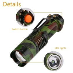 1000LM - Flashlight - Waterproof - Camouflage - LED