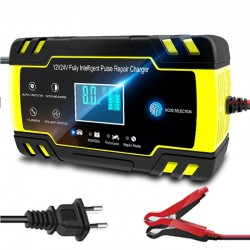 Pulse repair lcd charger - car battery