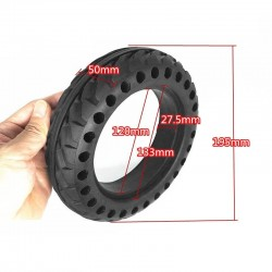 Electric scooter - tubeless solid tire - 8inch
