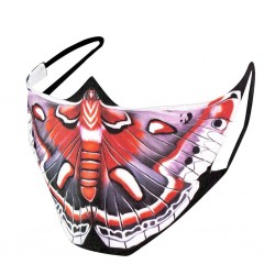 Mouth / face protective mask - reusable - cotton - Universal prints