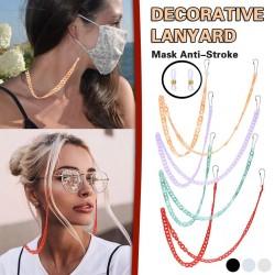 Multifunction chain - holder for glasses / face masks - decorative lanyard