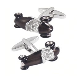 Racing cars - cufflinks - 2 pieces