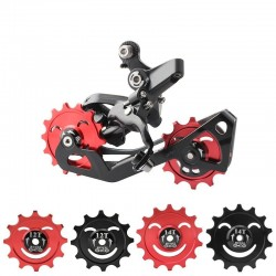 12T - 14T - bicycle wheel rear derailleur - ceramic bearing - alloy pulley