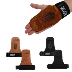 Weightlifting hand grips - gymnastics gloves - palm protector - wrist support
