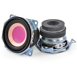 2 Inch - 4 Ohm - 3W - mini audio speakers - full range - 2 pieces