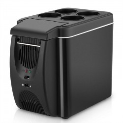 Car / camping mini refrigerator - freezer - with heating function - 6L - 12V