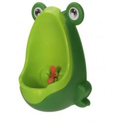 Boys pee training - teaching potty - frog design