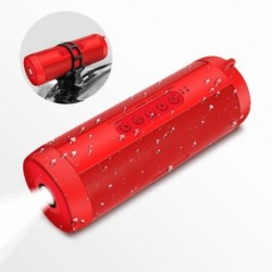 Wireless Bluetooth speaker - mini column box - TF card - waterproof - with torch