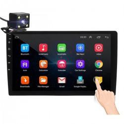 """Android 8 - DIN-2 car radio - 10.1"""" touch screen - GPS - BLUETOOTH - FM - WIFI - MP3 - MIRRORLINK"""
