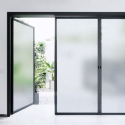 Frosted window film -...