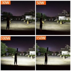 Outdoor street light - waterproof LED lamp - 30W / 50W / 100W / 150W - 10 pieces