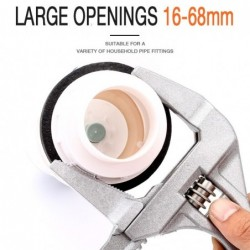 Multifunction universal wrench - adjustable - large opening - aluminum alloy