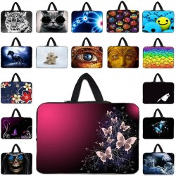 Protective laptop bag - soft cover - with zipper - 10 inch - 17 inch