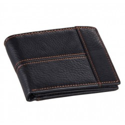 Men's wallet made from genuine cow leather