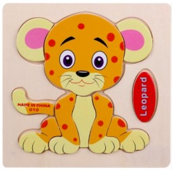 3D Wooden Puzzle Kids Educational Toy