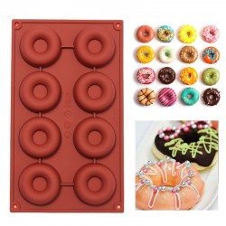 8 or 18 Cavity Cake Doughnut Baking Silicone Mould