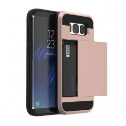 Samsung Galaxy S8 S8 Plus Hybrid Card Slot Hard PC+Soft TPU Cover Case