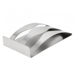 Stainless steel toothbrush holder - wall mounting