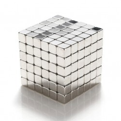 5mm Cube Magnets Square 3D Puzzle Ball 216pcs