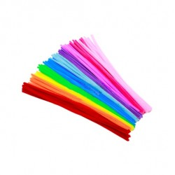 Material chenille - children educational toy - colorful pipes 100 pieces