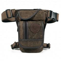 Hip belt - waist - leg - thigh - military canvas bag