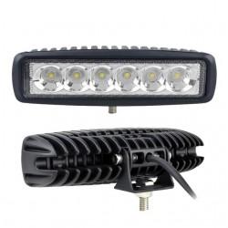 6inch 18W LED Work Light for Indicators Motorcycle Boat Car 4x4 SUV ATV Spot Flood 12V 2pcs