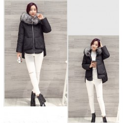 Fur Collar Hooded Winter Jacket