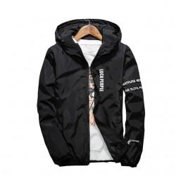 Slim fit - hooded jacket - windbreaker