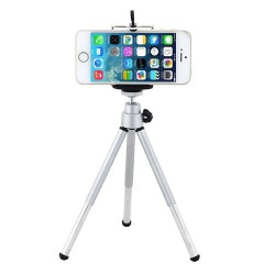 iPhone & Samsung HTC - 6NEB - 360 rotating - mini stand - tripod mount & phone holder
