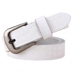 Pin Buckle Genuine Leather Belt