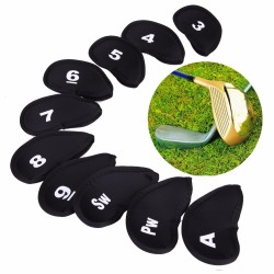 Golf Head Cover Putter Protector Set 10pcs