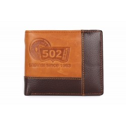 Genuine cow leather purse wallet