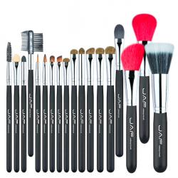 Super soft natural hair professional makeup brush set 18 pcs