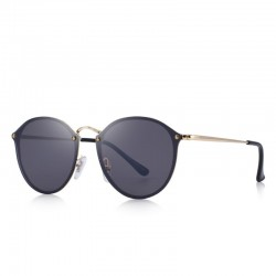 Retro oval sunglasses - UV protection - unisex