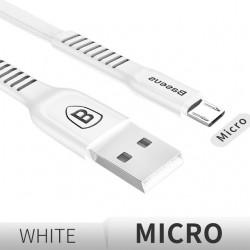 Baseus - fast charging - flat micro USB data cable