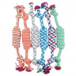 Baumwollknochen & Seil - Hundespielzeug 27cm